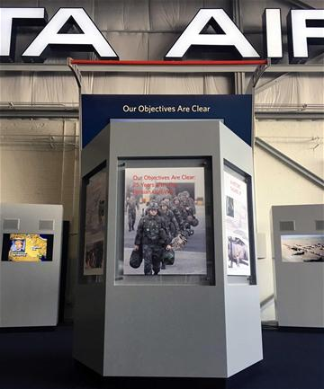 Image of Persian Gulf War Exhibition at the Delta Flight Museum