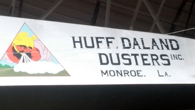 Building full-scale model of Huff Daland Duster, 2013-14