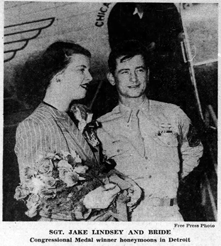 C&S Detroit inaugural 1945 honeymooners