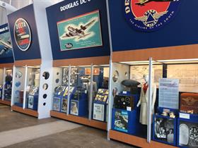 Hangar 1 exhibits