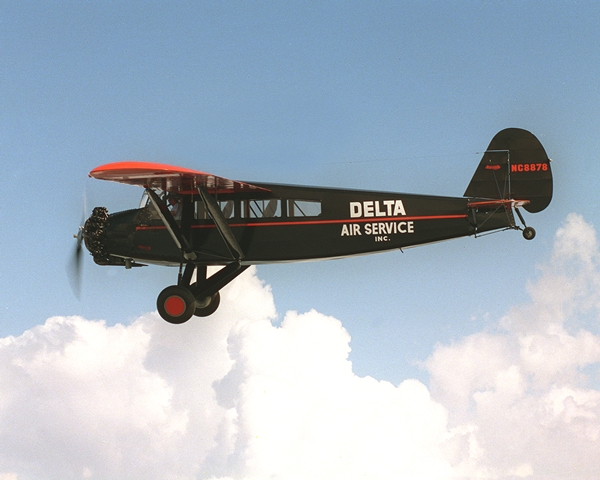 Restored Travel Air in flight
