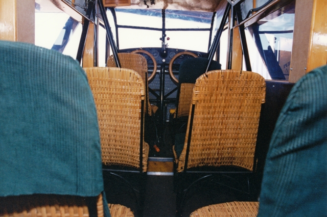 Travel Air interior, ca. 2000
