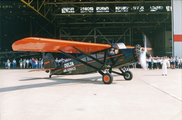Travel Air outside Hangar 2, ca 2000