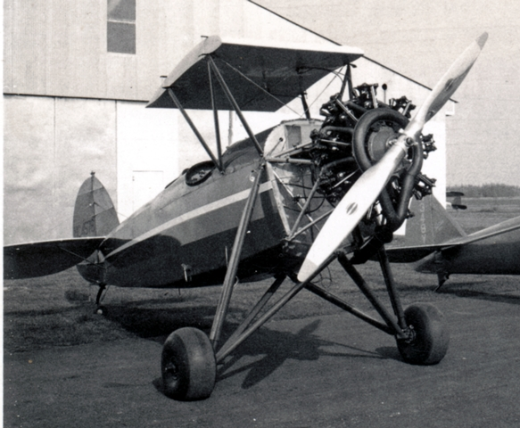 Restored Waco 125 owned by Neumans
