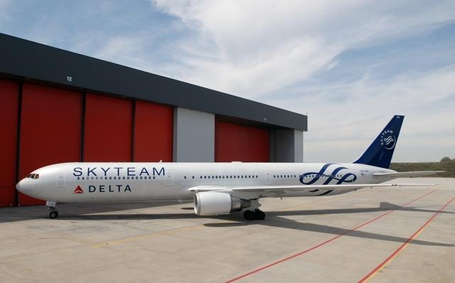 Delta 767-400 Skyteam