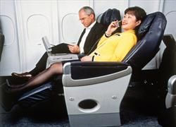 Delta BusinessElite seat, 1998