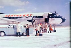 ne_cv-240_deplaning_snow_early1950s