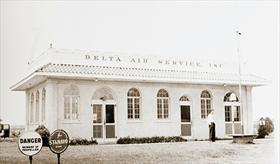 Delta headquarters in Monroe, LA, 1929