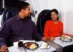 Delta BusinessElite meal service, 2005