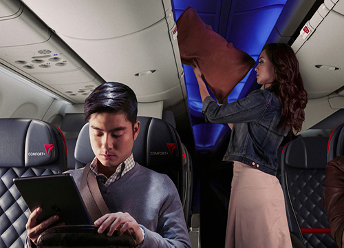 Delta air lines service classes history timeline for What is the difference between delta comfort and main cabin