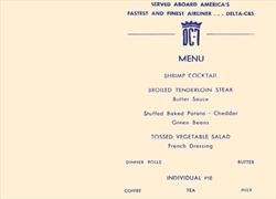 Delta DC-7 Golden Crown service menu