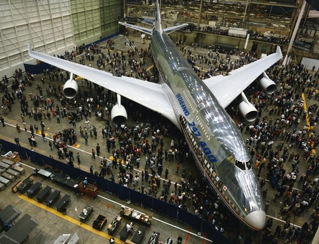 Boeing 747 400