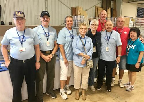 9-8-17 Surplus Sale volunteers