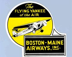 ne_label_boston_maine_airways_flying_yankee_of_the_air_1933