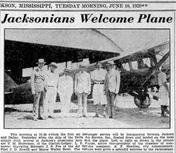 City of Jackson welcomes first Delta flight