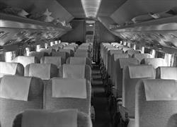 Delta DC-7B interior in 1959
