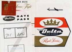 Delta Royal Service boarding pass