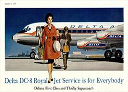 Royal Jet Service is for everybody, 1959