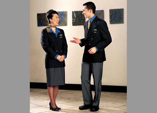 Airport Customer Service Public Contact Uniforms, 1991-present